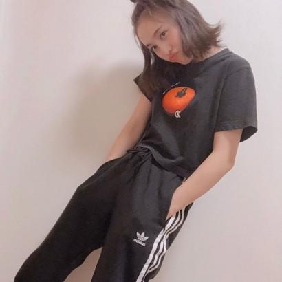 【エンタがビタミン♪】百田夏菜子、ヤンキーっぽい姿も「ジャージでこんな可愛いとか神!」の声