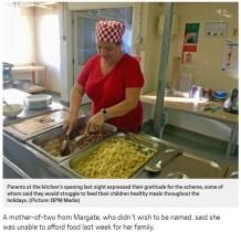 【海外発!Breaking News】夏休み中の学校で、貧困家庭の子供たちに無料で食事提供(英)