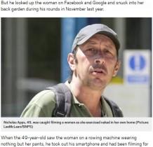 【海外発!Breaking News】配達先の庭に忍び込み下着姿の女性を盗撮した郵便配達員逮捕される(英)