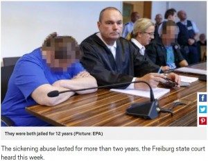 【海外発!Breaking News】闇サイトで小児性愛者へ9歳息子を売ったカップルに12年の懲役刑(独)