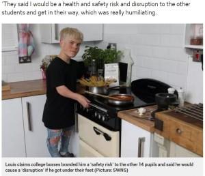 【海外発!Breaking News】小人症の男性、料理学校への入学を断られる「他の生徒の邪魔になる」(英)
