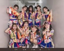 """【エンタがビタミン♪】SKE48""""雨の屋外ライブ""""決行「私たちだけでは立てなかった」「何て凄いグループ」"""