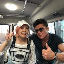 【エンタがビタミン♪】野沢直子、俳優・小沢仁志とは中学の同級生 「クセが強い」2ショット公開