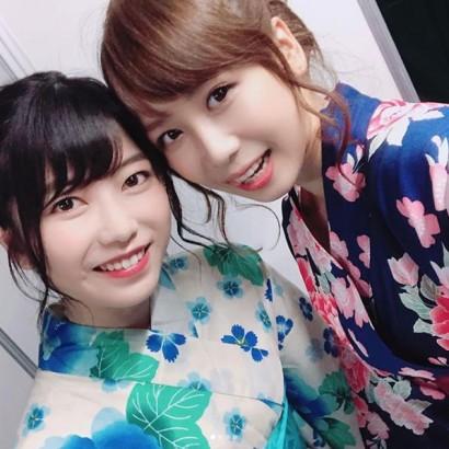 """【エンタがビタミン♪】AKB48大家志津香、浴衣で可愛さ""""10割""""増し「日本で良かった」"""
