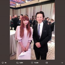 【エンタがビタミン♪】中川翔子、荒木飛呂彦『JOJO展』で藤子不二雄Aやちばてつやと遭遇