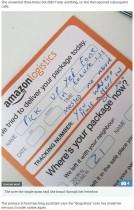 【海外発!Breaking News】Amazon宅配ドライバーから怒りの不在届 怯える女性に世間の反応は冷ややか(英)