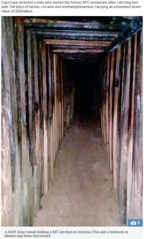 【海外発!Breaking News】メキシコからアメリカの空き店舗へ 密輸用トンネル見つかる
