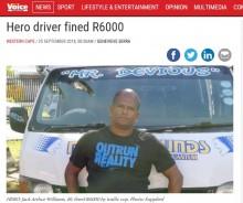 【海外発!Breaking News】てんかん発作の少女を緊急搬送したタクシー運転手に法外な罰金(南ア)