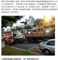 【海外発!Breaking News】過積載の大型トレーラー、ブレーキが効かず激突も一本の街路樹が20人を救う(台湾)
