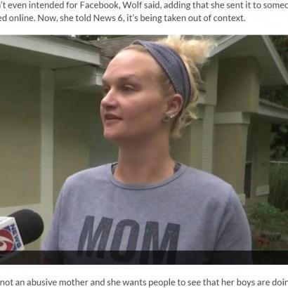 【海外発!Breaking News】息子の頭を便器に突っ込もうとした母親、不起訴処分に(米)<動画あり>