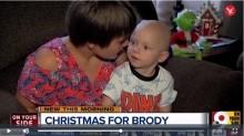 【海外発!Breaking News】余命1か月の2歳児に早めのクリスマス 人々からの励ましに父親が感謝の気持ち綴る(米)