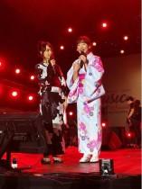 【エンタがビタミン♪】仲川遥香&JKT48アヤナ、インドネシアの音楽祭で着物姿披露