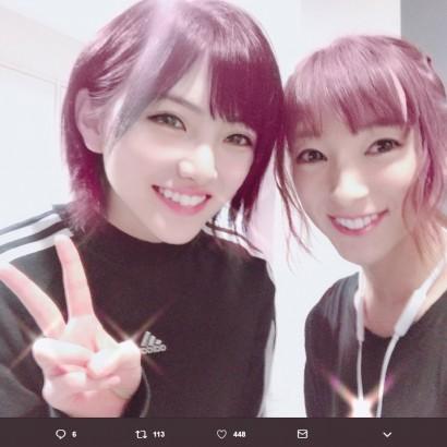 【エンタがビタミン♪】AKB48岡田奈々、元SDN48梅田悠と14期生オーディション以来「6年振りの再会!」