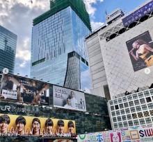 【エンタがビタミン♪】イモトアヤコ×安室奈美恵 広告が渋谷の街でコラボ「運命ですね」の声も
