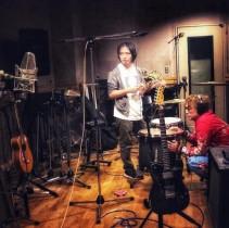 【エンタがビタミン♪】香取慎吾、ミュージシャン・ナカコーとスタジオショット「僕の個展には音楽が必要だ」