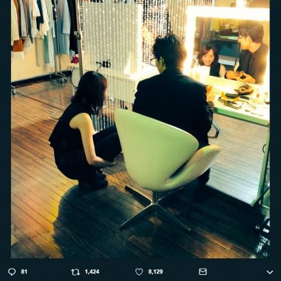 【エンタがビタミン♪】新垣結衣×松田龍平『獣になれない私たち』オフショットに脚本家・野木亜紀子「撮った人と握手したい」