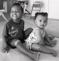 【イタすぎるセレブ達】キム・カーダシアン、子供達のレアショット公開 2時間で200万の「いいね!」集める