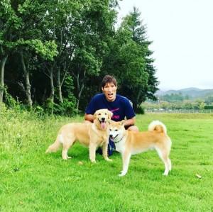 【エンタがビタミン♪】篠原信一、愛犬を警察犬学校の合宿訓練へ 「かわいそう」「訓練は必要」と賛否両論の声