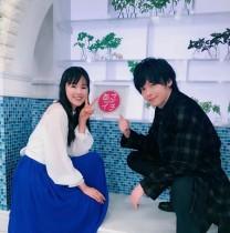 """【エンタがビタミン♪】小西真奈美、中村倫也とのオフショットで""""半分、青い。""""コーデ披露"""