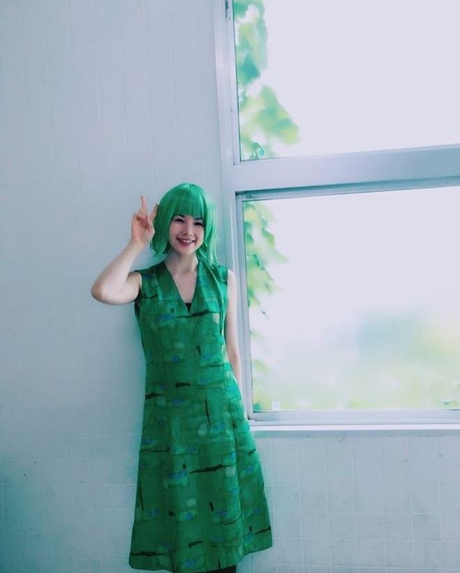 『半分、青い。』で加藤恵子役を務める小西真奈美(画像は『小西真奈美 2018年8月30日付Instagram「半分、青い。今朝、初登場しましたよっ」』のスクリーンショット)
