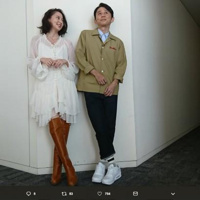 【エンタがビタミン♪】有吉弘行&河北麻友子、仲良く秋コーデ披露も「絶対カップルには見えない」不思議