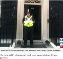 【海外発!Breaking News】警察官がC型肝炎の容疑者に噛みつかれる 「警察は社会のサンドバッグ的扱い」(英)
