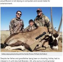 【海外発!Breaking News】「家族との絆」のため、8歳息子を狩猟に連れて行く両親(米)