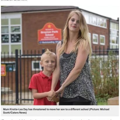 【海外発!Breaking News】モヒカンヘアの6歳児が登校禁止に 「他の児童の目を突く危険性あり」と小学校(英)