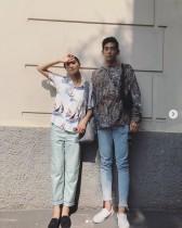 """【エンタがビタミン♪】榮倉奈々、イタリアで本木雅弘の長男・UTAと""""絵になる""""2ショット"""