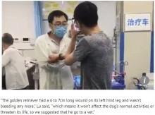 【海外発!Breaking News】救急病院で愛犬を「診察しろ」と医師に詰め寄った男(中国)<動画あり>