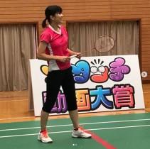 【エンタがビタミン♪】潮田玲子、久々のスマッシュ打ちで肩も上がらない状態に「これがブランクってやつ」