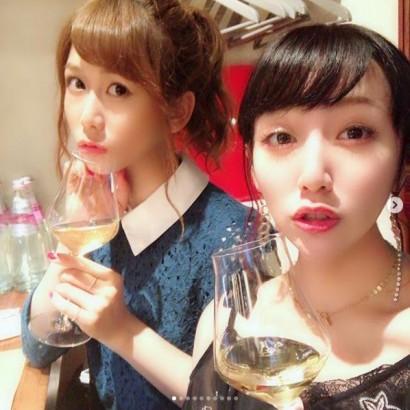 【エンタがビタミン♪】AKB48大家志津香、高橋みなみとグラス傾ける姿に「なんか同窓会みたい…」