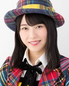 フロントメンバー入りを喜ぶ横山由依(AKB48)(C)AKS
