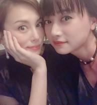 【エンタがビタミン♪】米倉涼子&ヨンア 2ショットに「めまいがするほど美しい」の声
