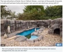 【海外発!Breaking News】ペンギンの模型を並べた動物園が物議を醸す 「ペンギン・マラリアのせい」(英)
