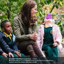 【イタすぎるセレブ達】キャサリン妃、王室NGも構わず子供たちとハグ 「世界最高のプリンセス」と称賛される