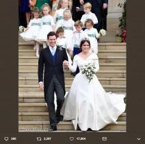 【イタすぎるセレブ達】英ユージェニー王女が豪華挙式! デミ・ムーア、リヴ・タイラーなどセレブも出席