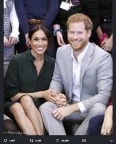 【イタすぎるセレブ達・Flash】メーガン妃ご懐妊! ケンジントン宮殿公式Twitterで発表