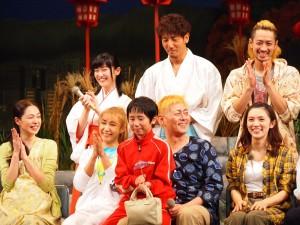 舞台『あいあい傘』笑顔あふれるキャストたち