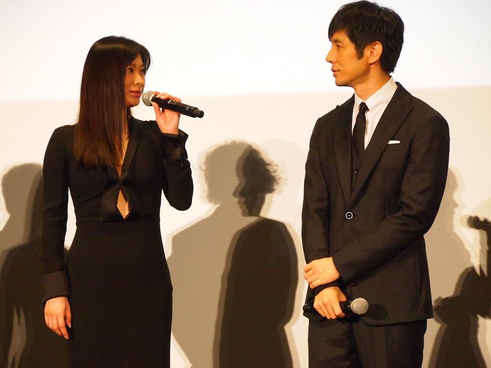 夫婦役を演じた篠原涼子と西島秀俊