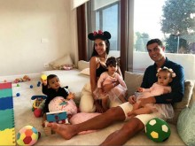 【イタすぎるセレブ達】渦中のクリスティアーノ・ロナウド、家族写真公開に500万以上の「いいね!」