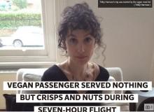 【海外発!Breaking News】ヴィーガンの女性、追加料金を支払い予約した特別機内食を提供されず(英)