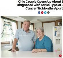 【海外発!Breaking News】結婚47年の夫婦、半年差で共に乳がんを告知され「全てをシェアしているけど、まさかがんまで!」(米)