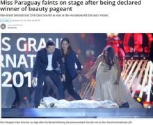 【海外発!Breaking News】ミスコン優勝者、名前を読み上げられた瞬間にステージで失神(ミャンマー)<動画あり>