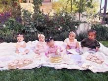 【イタすぎるセレブ達】カーダシアン家の子供たち大集合、パリス・ヒルトンも「可愛すぎる」