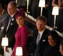 【イタすぎるセレブ達】ウィリアム王子夫妻&ヘンリー王子夫妻久々の4ショット メーガン妃には妊娠説も飛び出す