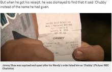 【海外発!Breaking News】客の名前を無視、レシートに「デブ」と印字したレストラン従業員が解雇(米)
