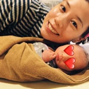 「5年前の今日息子が産まれました」と仲里依紗(画像は『Riisa Naka 仲里依紗 2018年10月4日付Instagram「Happy Birthday my son」』のスクリーンショット)