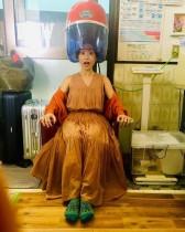 【エンタがビタミン♪】大島優子が銭湯でおどけた表情 CMオフショット投稿にも「帰ってきた~」の声
