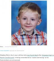 【海外発!Breaking News】行方不明の6歳自閉症児、捜索から5日後に最悪の事態に 家族の祈り届かず(米)
